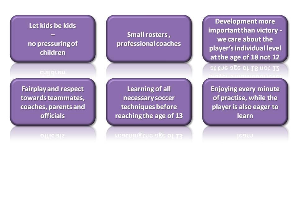 Developmental guidelines
