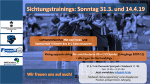 Sichtungstraining deutsch